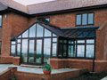 Gable Fronted  T-Shape  Conservatory